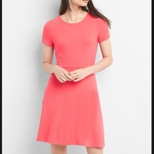 Softspun Fit and Flare dress
